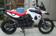 BMW F800GS 30TH